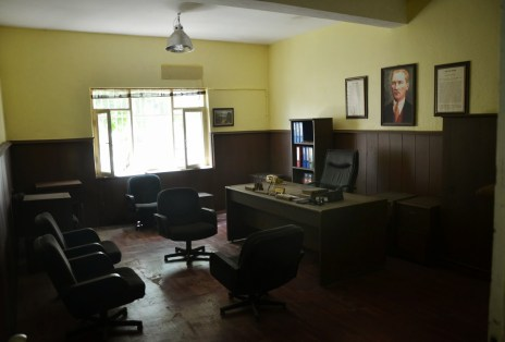 Warden's office at Sinop Cezaevi in Sinop, Turkey