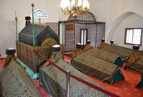 Şeyh Şaban-ı Veli Türbesi at the Şeyh Şaban-ı Veli Külliyesi in Kastamonu, Turkey