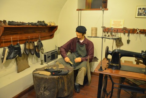 Shoemaker at the Kent Tarihi Müzesi in Safranbolu, Turkey