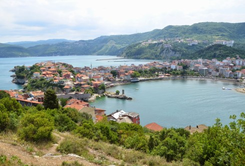 View from Büyük Ada in Amasra, Turkey