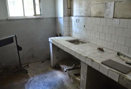 Kitchen at Sinop Cezaevi in Sinop, Turkey