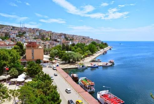 Aşıklar Caddesi in Sinop, Turkey