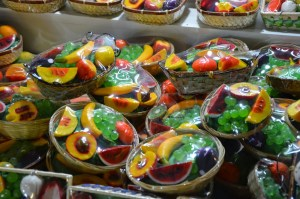 Fruit soap in Edirne, Turkey