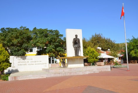 Cumhuriyet Meydanı in Bozcaada, Turkey