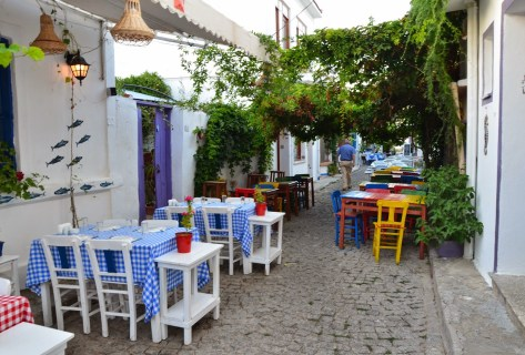 Greek Quarter in Bozcaada, Turkey