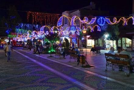 Saraçlar Caddesi in Edirne, Turkey