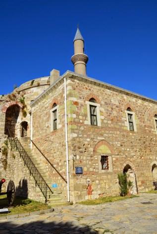 Fatih Camii at Çimenlik Kalesi in Çanakkale, Turkey