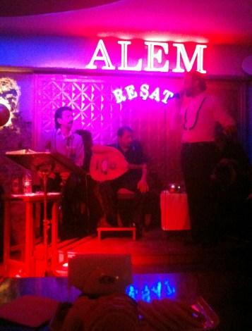 Alem Bar in Bodrum, Turkey