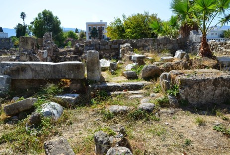 Temple of Hercules at the Agora in Kos, Greece
