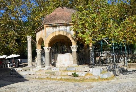 Şadırvan of the Gazi Hasan Paşa Camii in Kos, Greece
