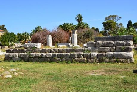 Temple of Aphrodite at the Agora in Kos, Greece