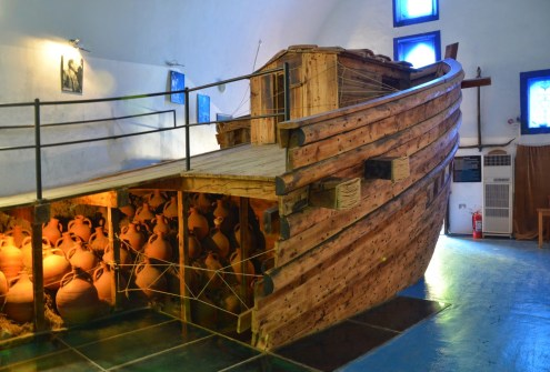 Bodrum Museum of Underwater Archaeology at the Castle of St. Peter in Bodrum, Turkey