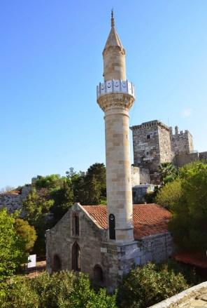 Chapel/Süleymaniye Camii at the Castle of St. Peter in Bodrum, Turkey
