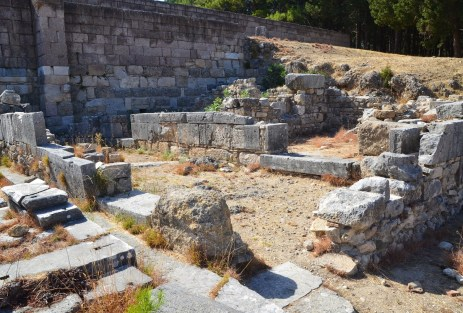 Priest's residence at the Asklepeion of Kos, Greece
