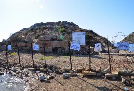 Myndos (Tavşan Adası) in Gümüşlük, Turkey