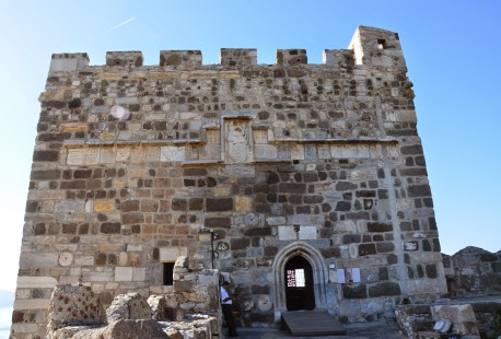 English Tower at the Castle of St. Peter in Bodrum, Turkey