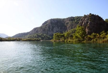 Dalyan River Delta in Turkey