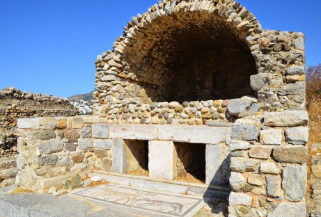 Roman tomb in Bodrum, Turkey