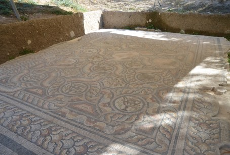 Mosaic at the Roman Odeon in Kos, Greece