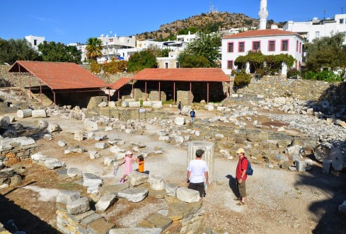 Mausoleum at Halicarnassus in Bodrum, Turkey