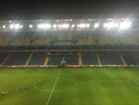 Şükrü Saracoğlu Stadyumu in Kadıköy, Istanbul Turkey