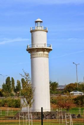 Lighthouse at Şükrü Saracoğlu Stadyumu in Kadıköy, Istanbul, Turkey