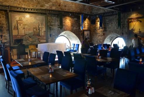 Restaurant at Kız Kulesi in Üsküdar, Istanbul, Turkey