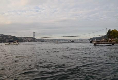 Fatih Sultan Mehmet Köprüsü in Istanbul, Turkey