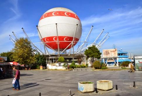 Türkbalon in Kadıköy, Istanbul, Turkey
