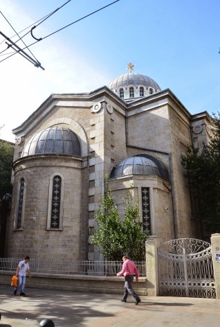 Agia Triada Greek Orthodox Church in Moda, Kadıköy, Istanbul, Turkey