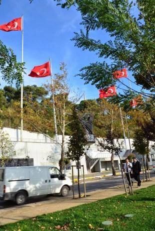 Monument to Turkish soldiers in Beykoz, Istanbul, Turkey