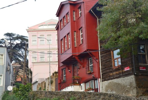 Ottoman homes in Istanbul, Turkey