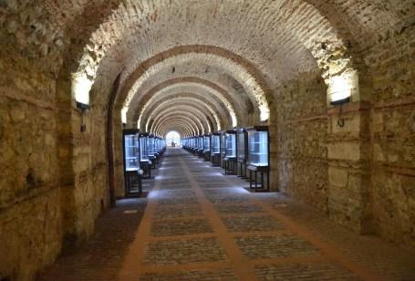 Tunnel to Beylerbeyi Sarayı in Beylerbeyi, Istanbul, Turkey