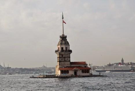 Kız Kulesi in Üsküdar, Istanbul, Turkey