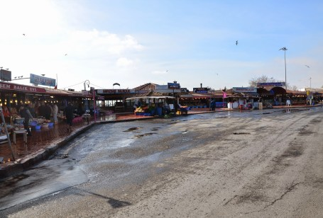Kumkapı fish market in Kumkapı, Fatih, Istanbul, Turkey