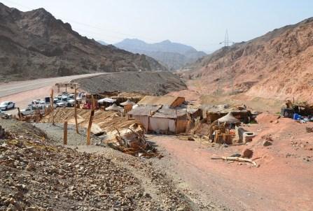 Outpost in Sinai, Egypt