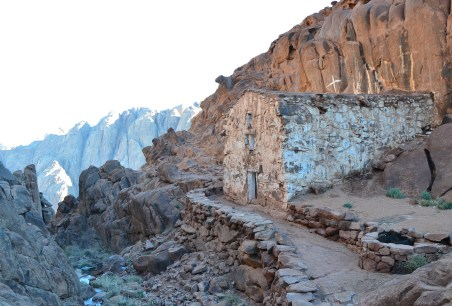 Orthodox chapel on the Way of the Steps, Mount Sinai, Egypt