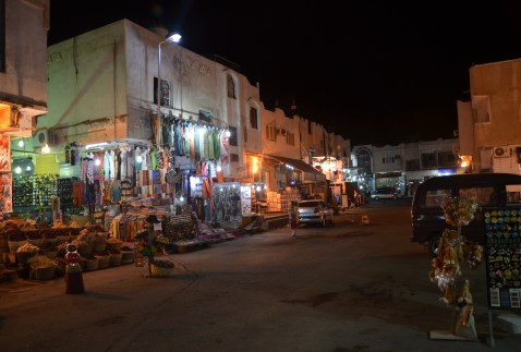 Souk in Sharm el-Sheikh, Egypt