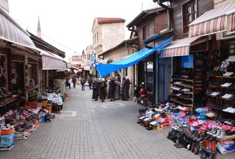 Bazaar in Kütahya, Turkey