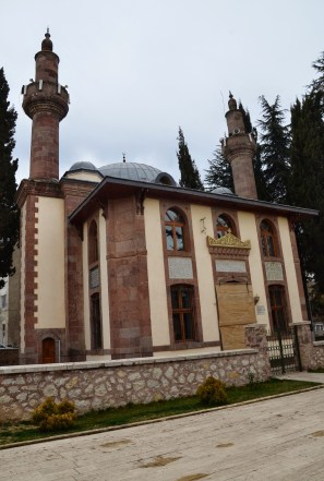 Çifte Minareli Hamidiye Camii in Söğüt, Turkey