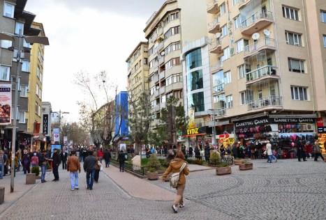 Hamamyolu Caddesi in Eskişehir, Turkey