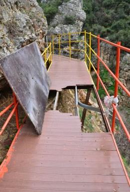 Bilecik Gorge in Bilecik, Turkey