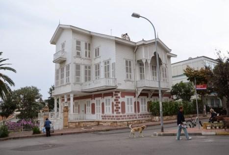 Ottoman home on Büyükada, Istanbul, Turkey