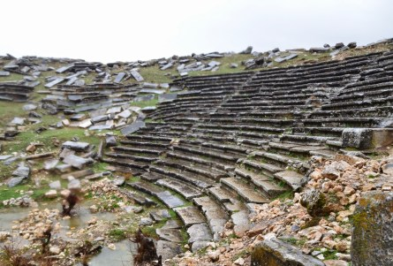 Theatre at Aizanoi, Çavdarhisar, Turkey