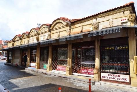 Sarraflar Çarşısı in Uşak, Turkey