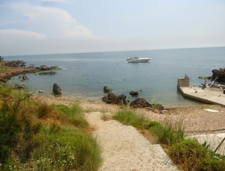 Kalpazankaya Beach on Burgazada, Adalar, Istanbul, Turkey
