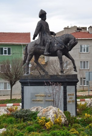 Ertuğrul Gazi monument in Söğüt, Turkey