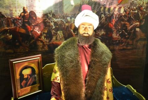 Fatih Sultan Mehmet at Jale Kuşhan Balmumu Heykel Müzesi at İstanbul Sapphire in Turkey