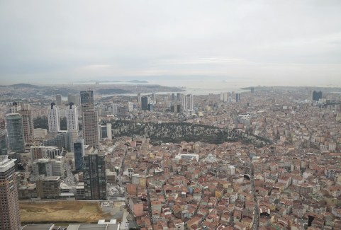 İstanbul Sapphire observation deck in Turkey