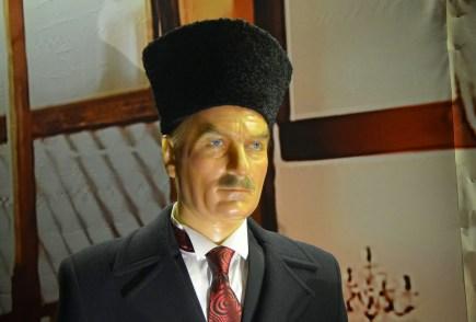 Mustafa Kemal Atatürk at Jale Kuşhan Balmumu Heykel Müzesi at İstanbul Sapphire in Turkey